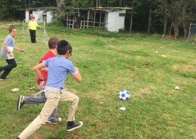 Soccer at Chaverim Boyz